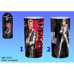 Glas van Johnny Hallyday - modelnummer: model n ° 2