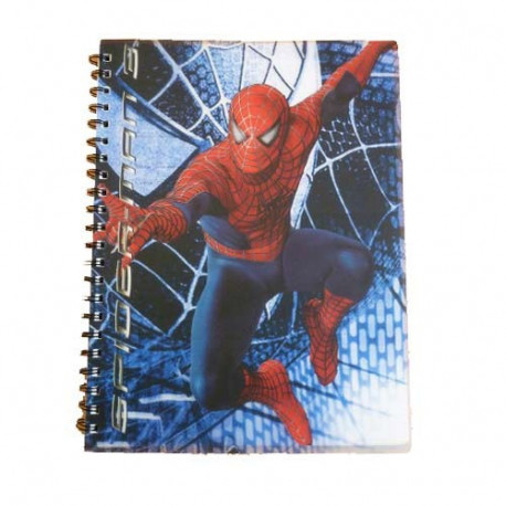 Cahier spirale A4 Spiderman