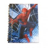 Cahier spirale A4 Spiderman