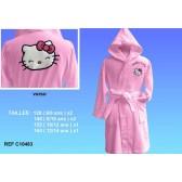 Pink Hello Kitty Badjas - grootte: 140 (8/10 jaar)