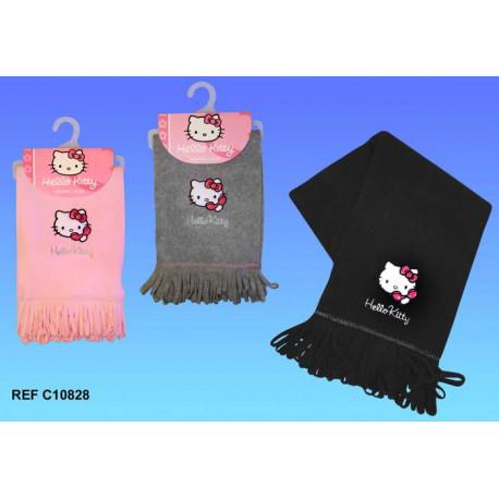 Polar sjaal Hello Kitty - kleur: grijs