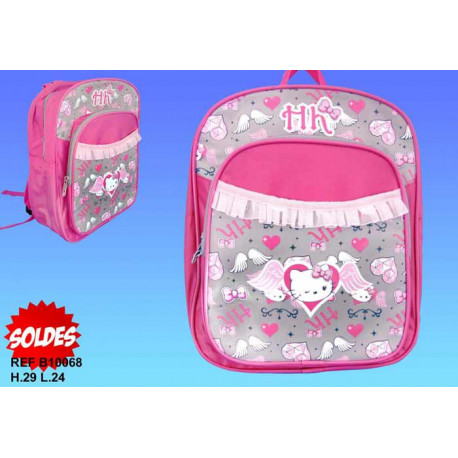 Sac à dos Hello Kitty Diamant type cartable maternelle