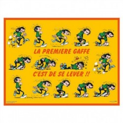 2 placemats Gaston Lagaffe