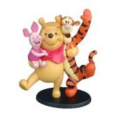 Statuette Winnie and his friends