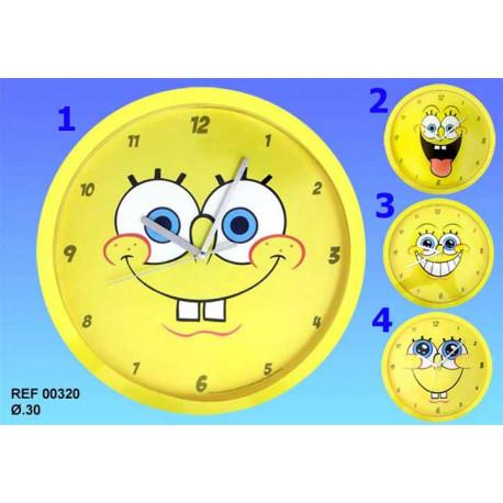 Pendule Bob l'éponge Sourire - Numéro de Modèle : Modèle n°3