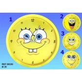 Pendule Bob l'éponge Sourire - Numéro de Modèle : Modèle n°4