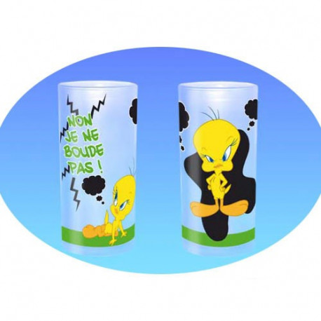 Sand glass Tweety Non I boude not