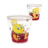 Bicchiere conico Tweety fragola