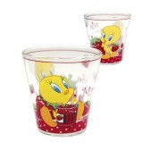 Conical glass Tweety Strawberry