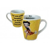 Mug conical Betty Boop 30