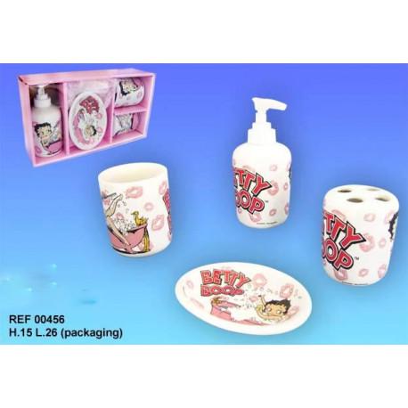Betty Boop set de baño