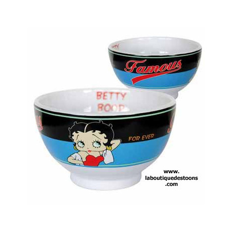 Betty Boop Famoso Blue Bowl