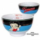 Betty Boop berühmte blaue Schüssel