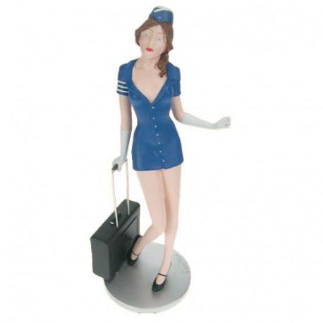 Beeldje stewardess
