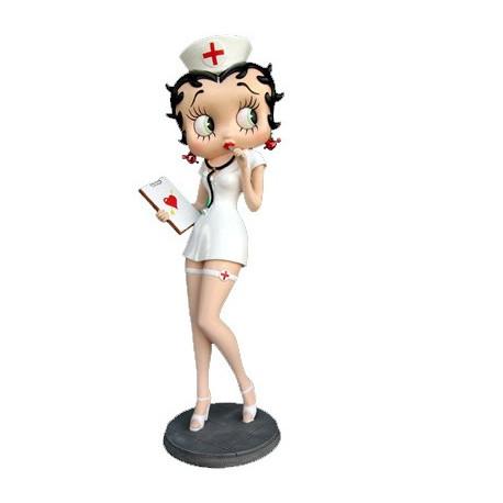 Infermiera Betty Boop statuetta