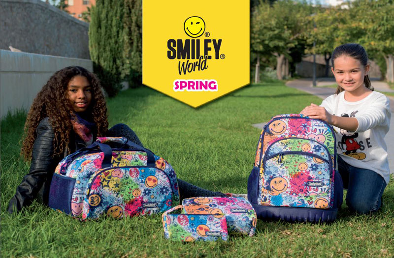 Cartable Smiley Spring